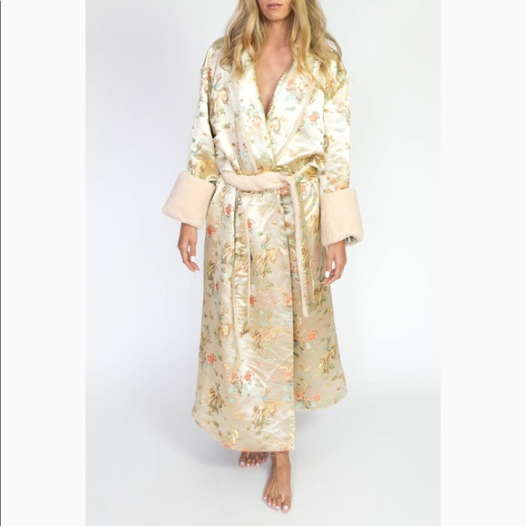 Empress Collective Brocade Robe Luxe Australia uiPkXZ